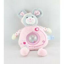 Comforter Rattle Mouse Pink Apples Gipsy - Mouse - Rat Rattle