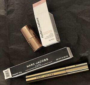 Marc Jacobs Beauty At Lash'd Lifting & Volumizing Mascara 10.1g + Highlighter
