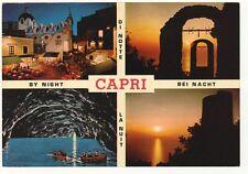 Lotto 4 cartoline CAPRI - Anni '70 e '80 - TUTTE VIAGGIATE
