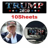 10x Donald Trump 2020 Car Stickers Stars President Keep Make America Great Vi