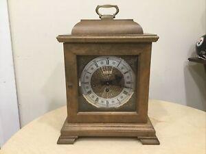 Hamilton  Mantle Clock With Key Model 340-020 Works! VINTAGE
