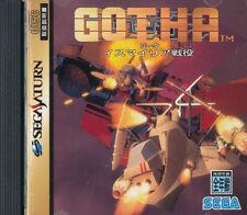 Gotha  Sega Saturn Japan Import  Mint/ N.Mint    US SELLER
