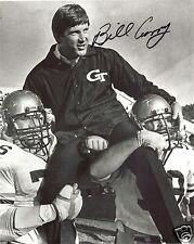 BILL CURRY GEORGIA TECH SIGNED 8X10 PHOTO W/COA #2