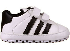 Newborn Baby Boy Girl White Sports Shoes Child Crib Shoes Infant Sneakers 0-18 M