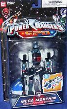 Power Rangers SPD Mega Morphin Shadow Ranger New Factory Sealed 2005