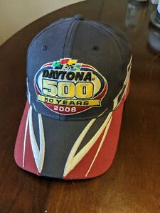 Daytona 500 - 50 Year Anniversary 2008 Nascar Hat Cap