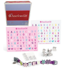 American Girl CHARM-ING PET COLLAR Stickers A-Z Kitty Cat Coconut Puppy Dog BOX