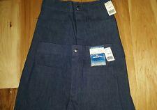 Nwt Seafarer Bell Bottom High Rise Jeans Vtg 28 unfinished hem midshipmen LOT 2