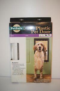 PetSafe Premium Plastic Pet Door White, Large PPA00-10960, #9605