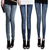 2017 New Sexy Women Jeans Jeggings Skinny Stretchy Slim Leggings Skinny Pants