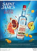 Publicité 2010 - Rhum SAINT JAMES