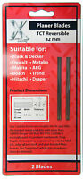 82mm Reversible TCT Planer Blades replaces Makita D-07945 to fit Bosch Dewalt