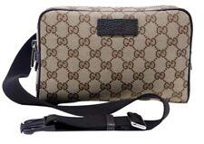 Gucci 449174 GG Guccissima Canvas GG Waist Belt Bag Fanny Pack NWT
