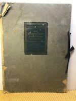 """RARE Four of Six Frederic Remington Lithographs """"Artists Proof""""  Original Folio"""