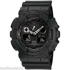Casio G-Shock GA-100-1A1 Black 3 Eye XL Digital Analog Men's Sport Watch