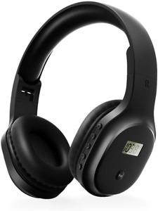 Rechargeable Portable FM Radio Headphone Walkman Wireless Headset Radio Ear Muff