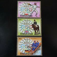 TCHAD N°286/288 JEUX OLYMPIQUES MUNICH 1972 NEUF ** LUXE MNH