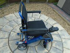ULTRA LIGHTWEIGHT LITHIUM POWERED FOLDING POWERCHAIR. ONLY 23 KGS IN WEIGHT