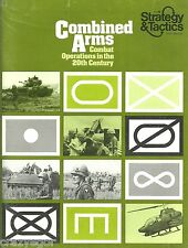 Strategy & Tactics S&T #46 Combined Arms - Modern Combat Operations 1939-70s unp