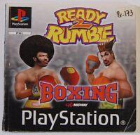 Manuel De Emploi Ready 2 Rumble Boxing PLAYSTATION 1