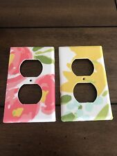 Cloud Island Floral~Outlet Covers Set Of Two