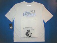 4-miler Maine Running Company lot of 2 New Balance shirts Thanksgiving Portland