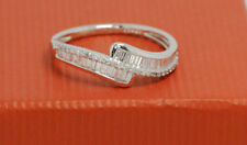Band Natural White Gold SI2 Fine Diamond Rings