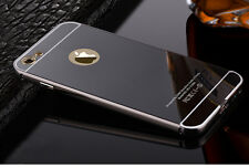 New Luxury Aluminum Ultra-thin Mirror Metal Case Cover for iPhone 5 5s 6 6 Plus