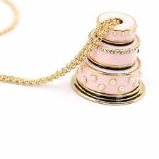 CG3064...ARTICULATED WEDDING CAKE NECKLACE by KATE SPADE - FREE UK P&P
