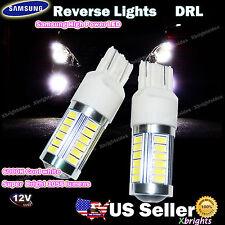 2pcs 7443 7440 Samsung LED 1056 lumen Back up Light DRL Projector Lens White #ia
