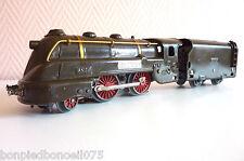 Jep locomotive à vapeur électrique carénée avec tender sncf   Réf 180/35