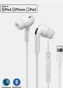 Lightning Bluetooth Wire For iPhone 11,X,8,7,6,5 IN-EAR Headphones / Earphones