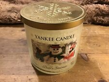 Yankee Candle Collectors Edition Build a Snowman New 11.5 oz Christmas