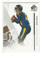 2013 SP Authentic Rookie #4 Geno Smith RC West Virginia Mountaineers