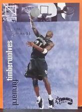 Kevin Garnett card 98-99 Thunder #110