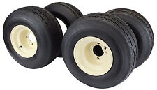18x8.50-8 with 8x7 Tan Wheel Assembly (Set of 4) for Golf Cart and Lawn Mower