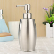Marvelous 375ml Kitchen Stainless Steel Liquid Shampoo Pump Lotion Soap Dispenser  Bottle