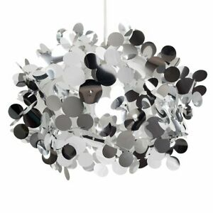 Modern Large Silver Bubble Effect Design Ceiling Pendant Light Shade