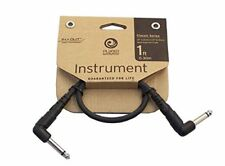 Planet Waves PW-CGTPRA-01 1 ft / 1/4-Inch Right Angle Instrument Cable