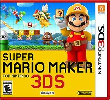 NEW Super Mario Maker (Nintendo 3DS, 2016)