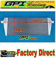 INTERCOOLER 725X240X42mm ALUMINUM UNIVERSAL TUBE& FI FIN FMIC FRONT MOUNT TURBO