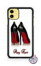 Customized Princess Shoe Heels Phone Case For iPhone i11 Samsung S20 LG Google 4