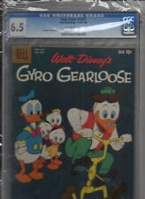 FOUR COLOR #1047 GYRO GEARLOOSE (FIRST ISSUE) CARL BARKS CGC 6.5 OW CASE CRACK