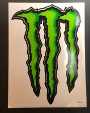 Monster Energy M-Claw Stickers 9x6.5 Super Glossy Decals NEW