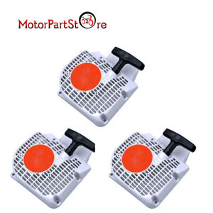 3 Pcs PULL STARTER RECOIL For STIHL 021 023 025 MS210 MS230 MS250 Chainsaw