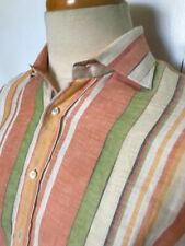 ETRO Man Shirt Striped Size M