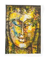 Peinture Da Budda Artista Noto Nepal Artigianale Capolavoro Unica 8483