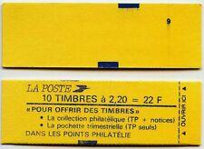 "CARNET 10 T 2,20 Rge :  Pochette ""TRIMESTRIELLE"" L46R"