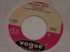 "JACK HAMMER & DAS ORCHESTER JOHNNY VAN HORN -Spelling Twist- 7"" 45"