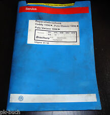 Reparatiebrochure VW Polo Classic / Variant Caddy 4-cil. dieselmotor mechanisch